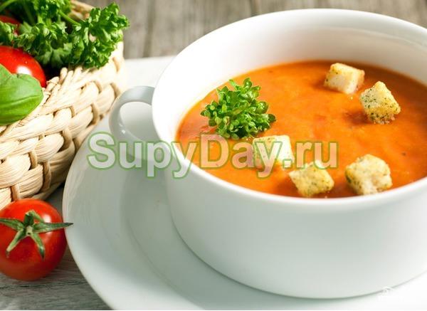 Сырный суп пюре с тыквой