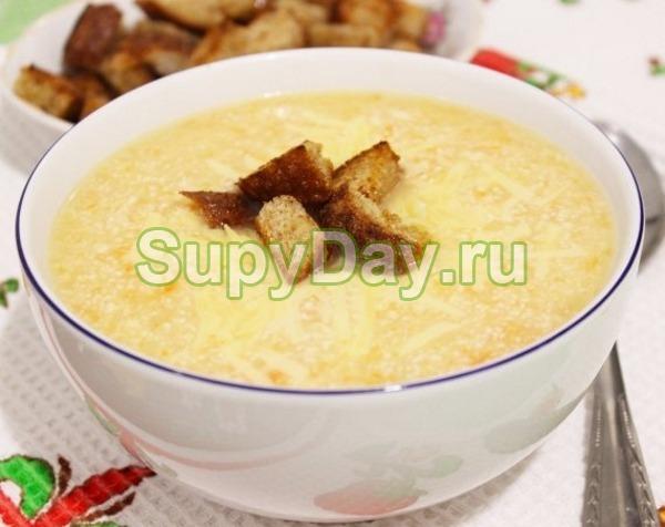 суп-пюре из картофеля рецепты с курицей и сыром
