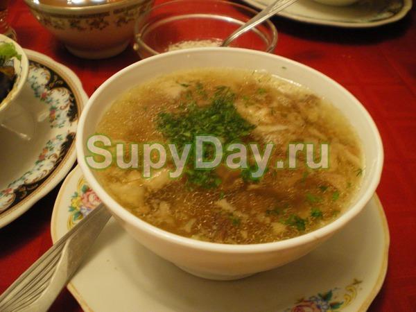 Луковый суп шпиком