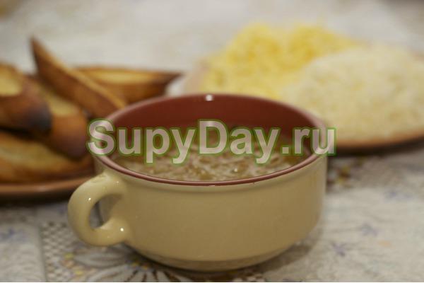 Луковый суп с русским акцентом