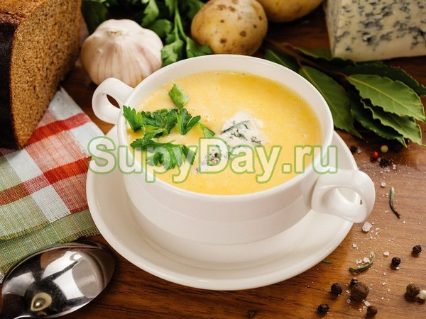 Суп пюре с сыром рецепты с фото
