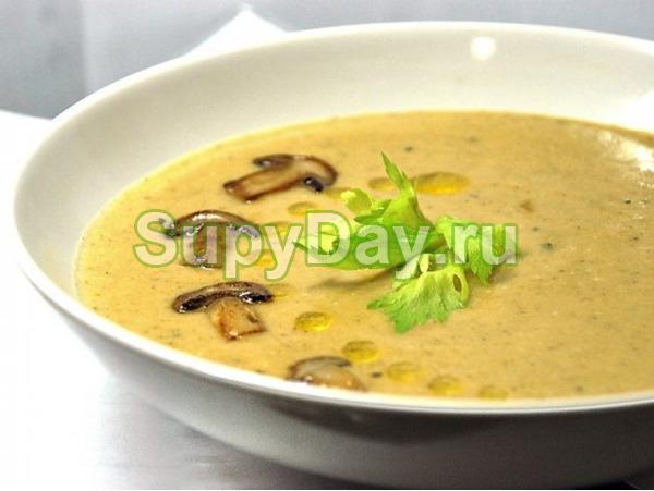 Суп пюре с шампиньонами и картофелем рецепт пошагово