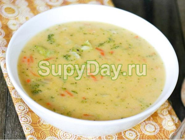 сырный суп с семгой рецепт с плавленным сыром