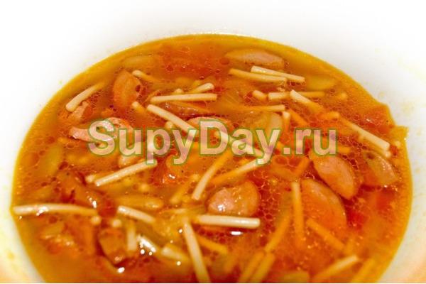 летний суп с овощами рецепт