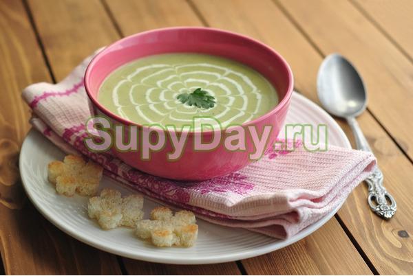 Крем суп из кабачков – очень полезный и низкокалорийный: рецепт с фото и видео