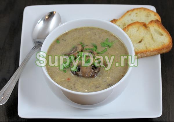 Диетический грибной суп рецепт