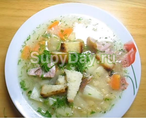 Рецепт горохового супа с копченой курицей - выбор домохозяйки