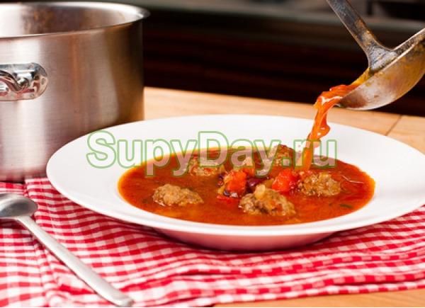 Суп «Болгарский вермишелевый»