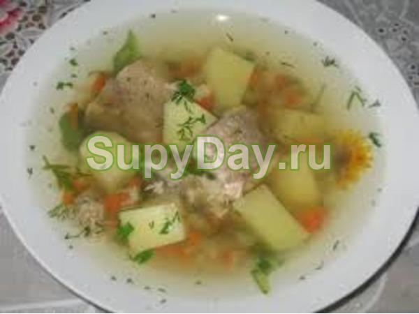 суп из рыбных консервов горбуша рецепт с рисом