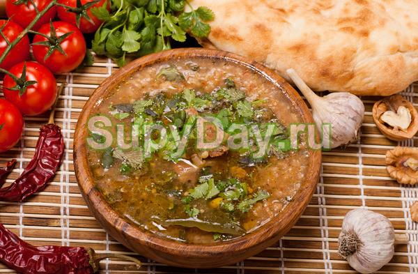 Грузинская солянка рецепт пошагово