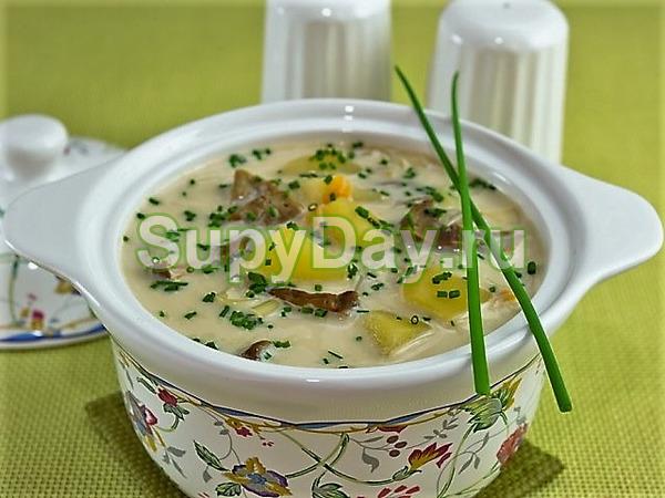 Сырный суп рецепт с перловкой