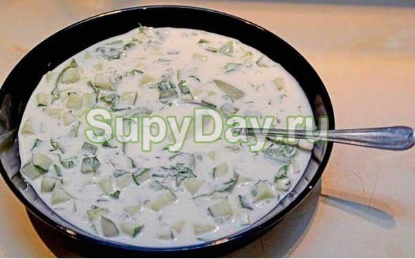 Суп для похудения холодный