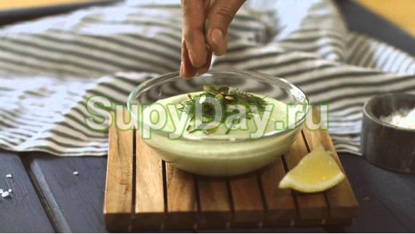 Суп для похудения из авокадо