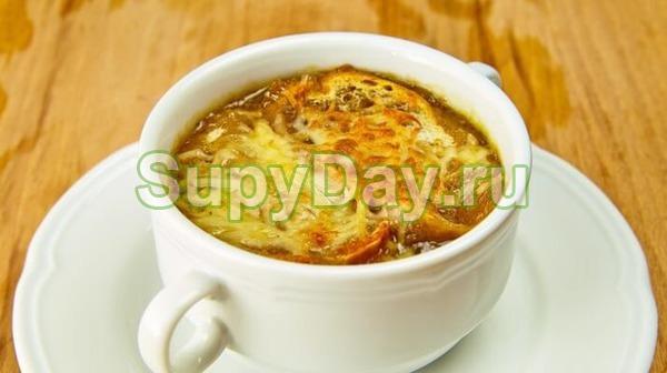 Суп для похудения луковый