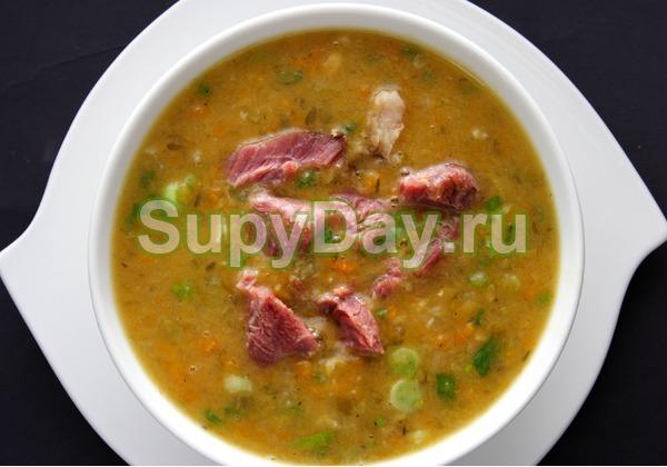 Суп из куриной грудки «Гороховое безумие»