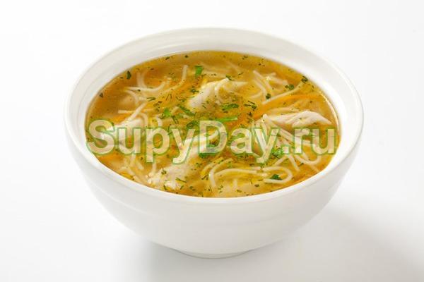 Суп из куриной грудки с вермишелью «Домашний»