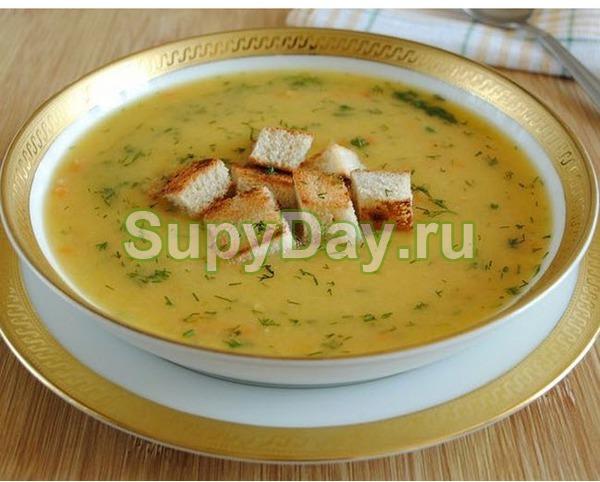 Суп из куриной грудки «Хрустящий»