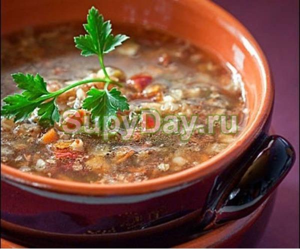 Суп из куриной грудки и гречки «Ням-ням»
