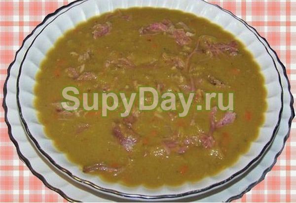 Суп из куриной грудки с нутом «Антидепрессант»