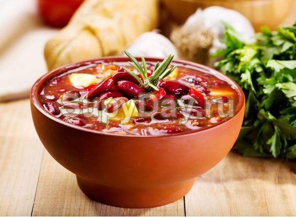 Простой фасолевый суп