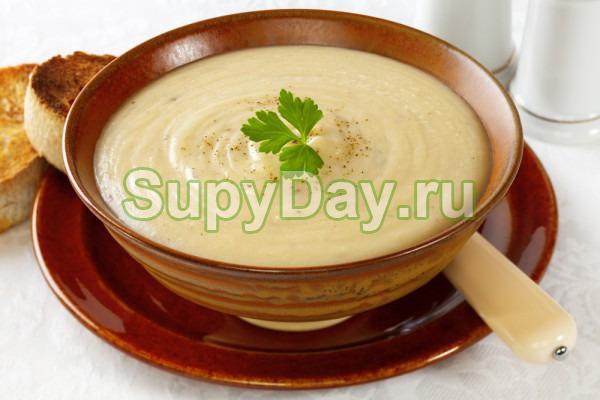 Суп из цветной капусты – холодный суп-пюре