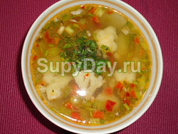 Суп из цветной капусты – «Быстрый»