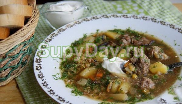Суп грибной с вешенками