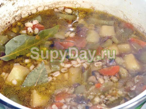 Суп с перловкой «Рассольник классический»