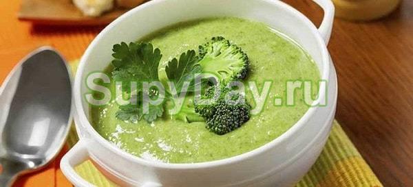 Сельдереевый суп из брокколи