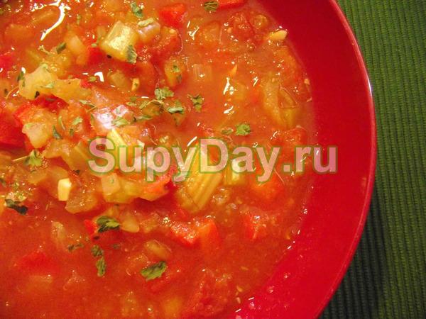 Капустно – луково – сельдереевый суп