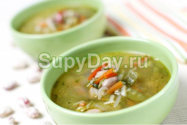 Сельдереевый суп с курицей