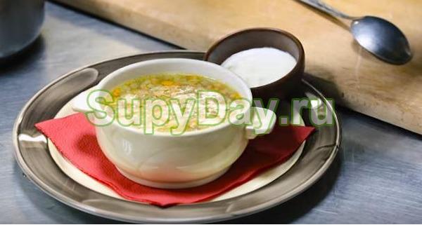 Шотландский грибной суп с белыми сушёными грибами