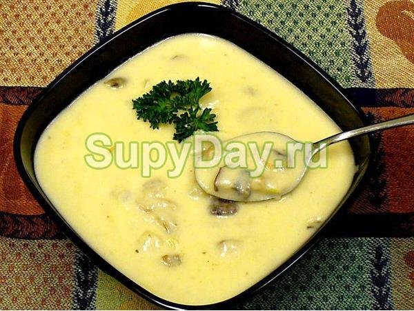 Сливочный суп-пюре