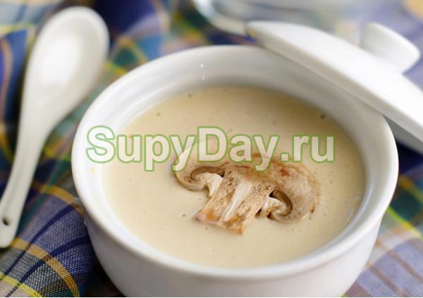 Пряный грибной суп