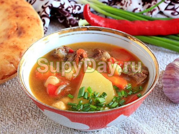 суп из говяжьих ребер рецепт
