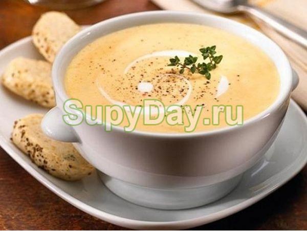 Немецкий яичный суп