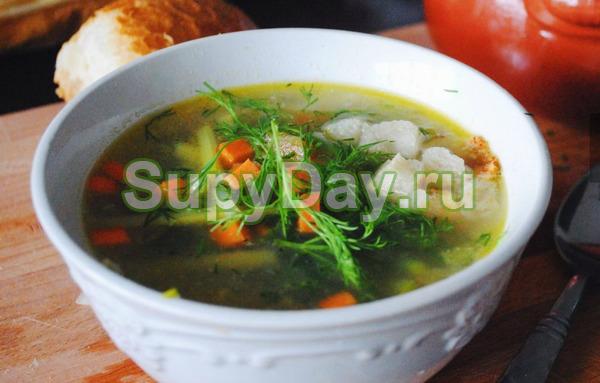 Гречневый суп с яйцом