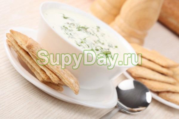 Яичный суп с тофу