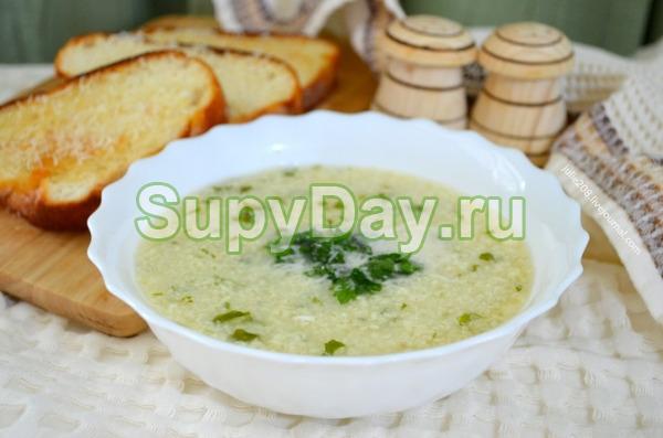 Чихиртма - куриный суп с яйцом