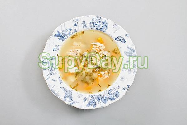 Рыбный суп с яблоками