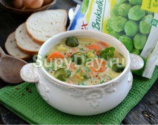 Овощной легкий суп