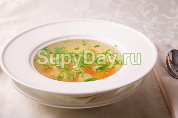 Куриный легкий суп