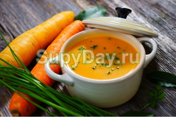 Морковно-картофельный крем суп - рецепт пошаговый с фото