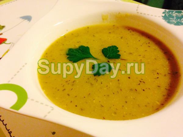 Чечевичный суп  по – турецки