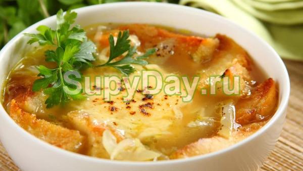 Французский суп-рагу с капустой и овощами