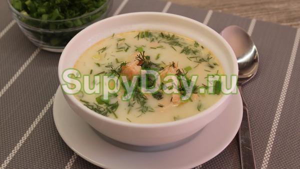 Финский суп из горбуши Лохикейтто