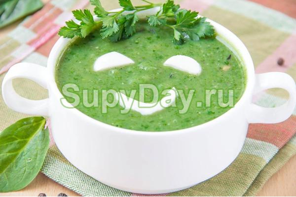 Суп из брокколи и цветной капусты - диетическое питание