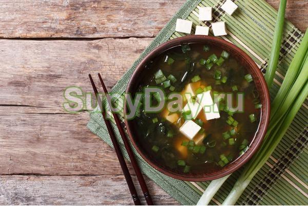 Японский постный суп