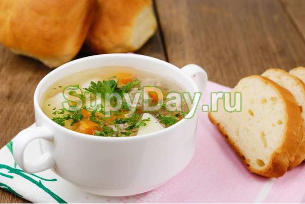 Суп из цветной капусты с тыквой