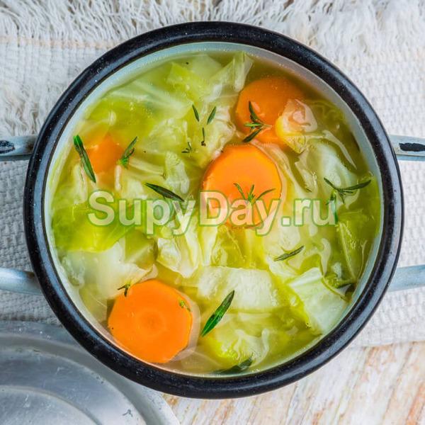Овощной суп для похудения – базовый рецепт